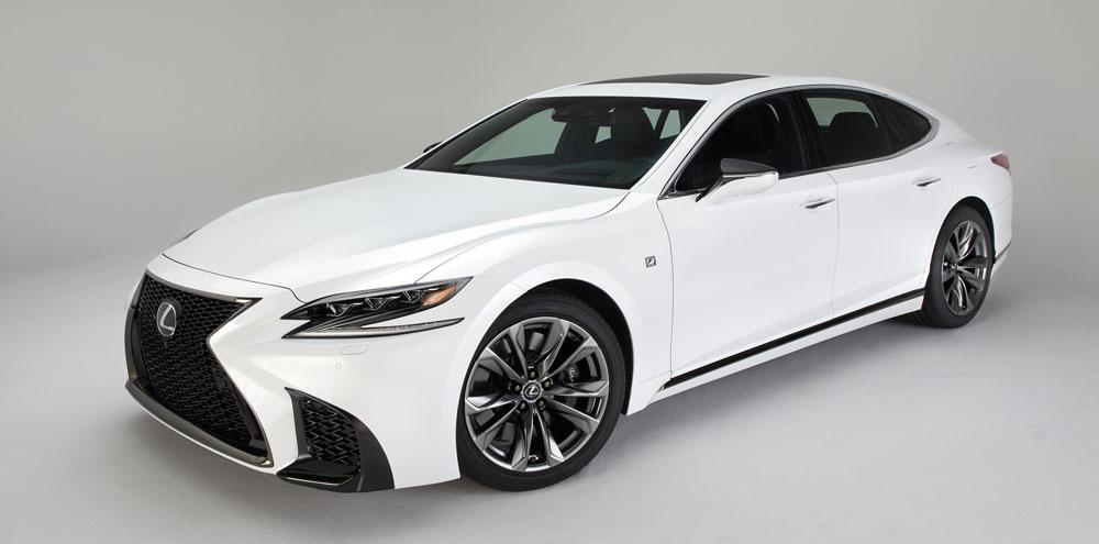 Nowy Lexus LS F SPORT